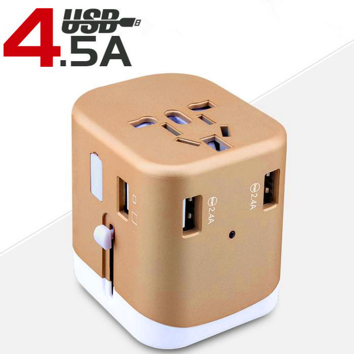 8 Holes USB Table Hub Multi - Country Global Travel Conversion Plug Charger